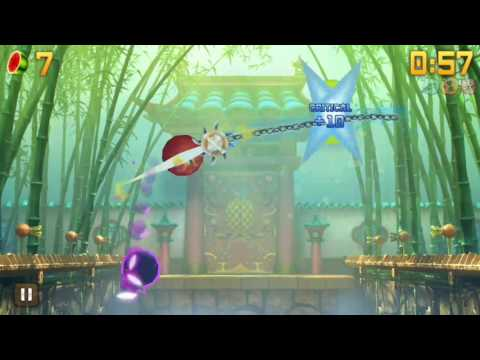 Fruit Ninja: Sunlight Dojo + Ancient Yoyo Blade
