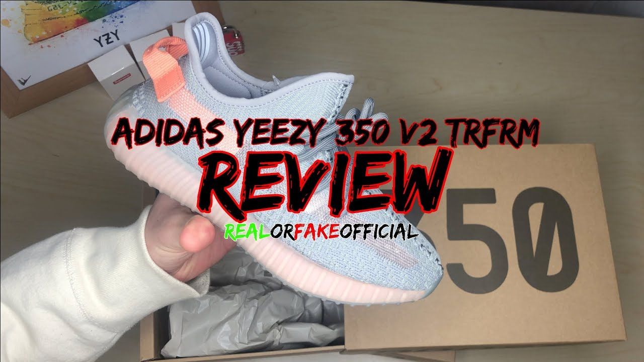 2dab160cf EUROPE EXCLUSIVE ADIDAS YEEZY 350 V2 TRFRM (TRUE FORM) REVIEW - YouTube