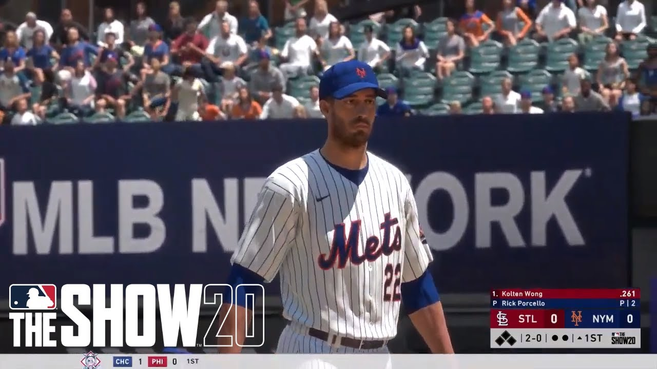MLB The Show 20: Cardinals vs Mets, Game 68