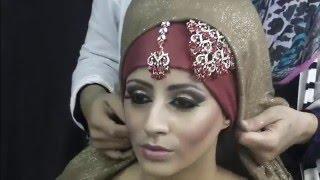 Asian Bridal Makeup Hijab Tutorial By Farzana Ahmed