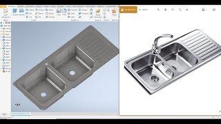 Inventor 2020 Tutorial  #97 | 3D Design Sheet metal die