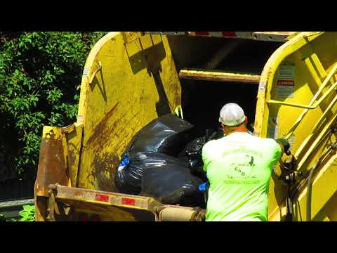 Garbage Truck Packing 6-25-2018