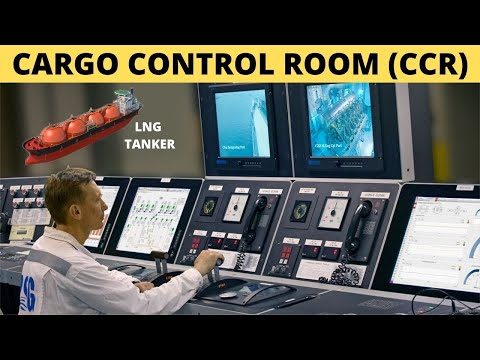 Cargo Control Room (CCR)   How It Looks on LNG Tanker ?