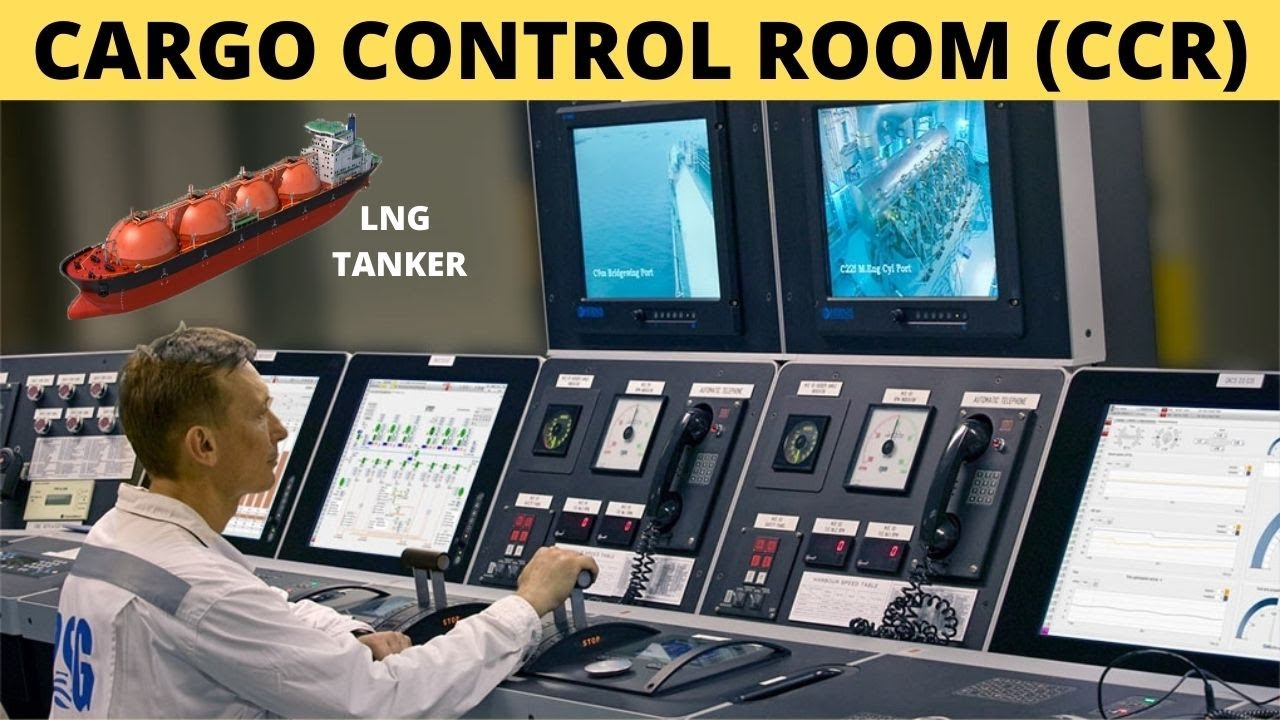 Cargo Control Room (CCR) | How It Looks on LNG Tanker ?