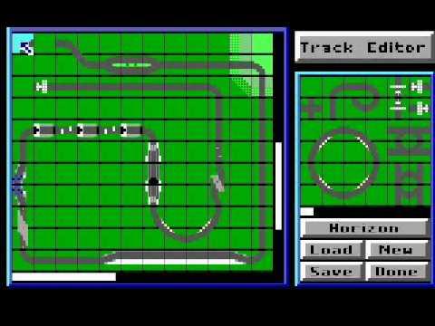 Remembrances of Games Past, Part #10: Stunts (1990) (PC) (Distinctive Software)
