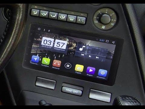 Универсальная 2 DIN (178x100) магнитола Android 7.1.1 2D98-T4