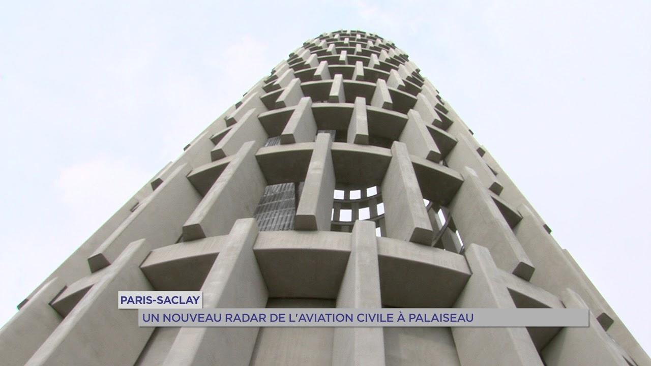 Paris-Saclay : un nouveau radar de l'aviation civile à Palaiseau