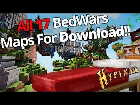 16 Hypixel S Bedwars Maps Bedwars Lobby For Download Youtube