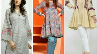 Beauty Fashion stylish New Fabulous embroider Fancy party wear dresses collection