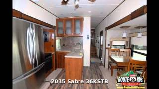 2015 Palomino Sabre 36KSTB, Fifth Wheel Two Bedroom, in Claremore, OK