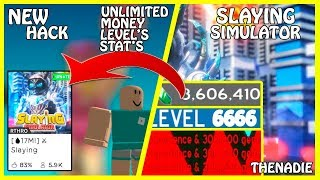 [NEW] Roblox Slaying Simulator Hack | Unlimited Gems / Unlimited Level's / Unlimited Stats | [FREE]