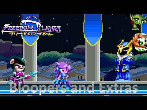 Freedom Planet - Wii U:  Bloopers and Extras