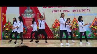 Nhảy hiện đại BOMBASTIC , DADDY, TAKE ME  -12A2 THPT Kiến Thụy Hải Phòng