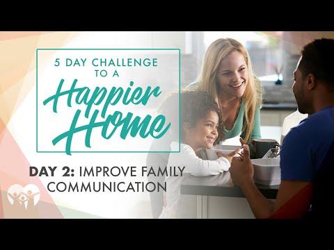 Day 2: Improve Family Communication
