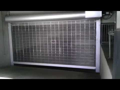 Lawrence Roll Up Doors  Model PG High Performance Roll Up Grille  Parking Garage  YouTube