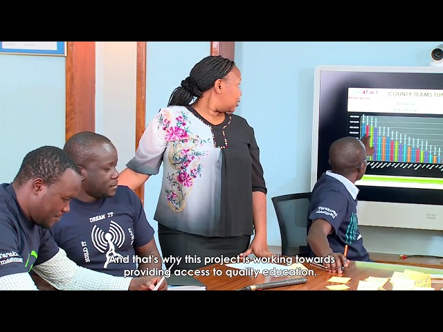 For these learners, the world is just a click away