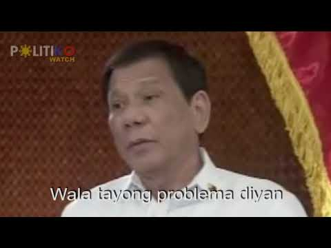 Duterte: Everytime Trillanes open his mouth, Filipino people suffers