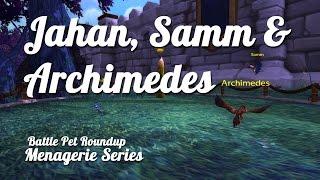 Jahan, Samm & Archimedes - Menagerie