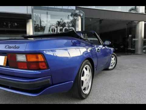 porsche 944 turbo cabrio para venda em jorcar ref 349630 youtube