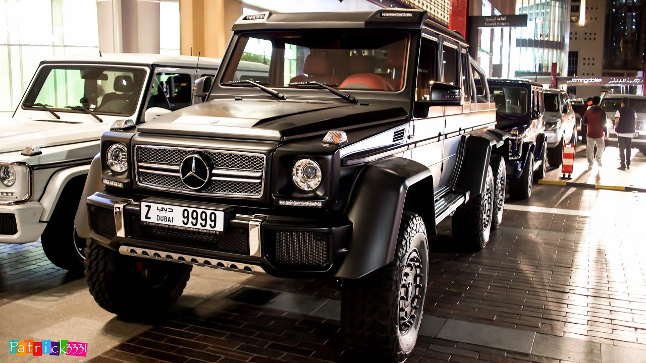G63 amg 6x6 mercedes benz v8 biturbo youtube for Mercedes benz amg v8 biturbo