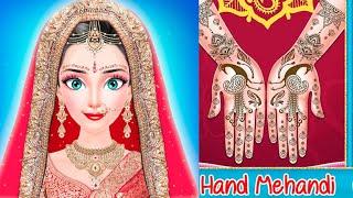 Royal Indian Girl Fashion Salon For Wedding