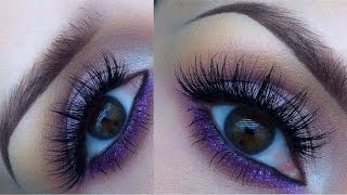 Pop of purple summer tutorial Thumbnail