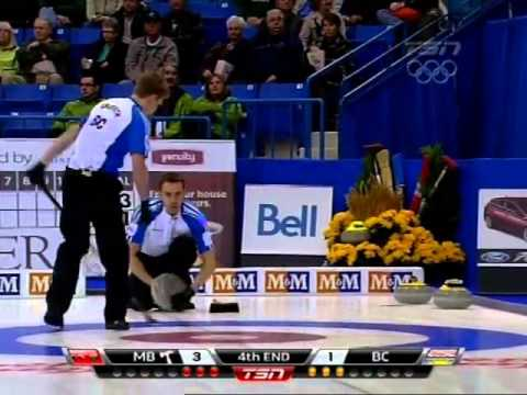 2012 Tim Hortons Brier - Fowler (MB) vs. Cotter (BC) - Draw 6