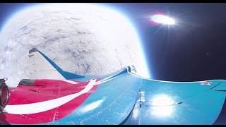 First-ever 360 video of MiG jet conquering stratosphere at dizzying 18,250 meters, 2,000 kmph speed
