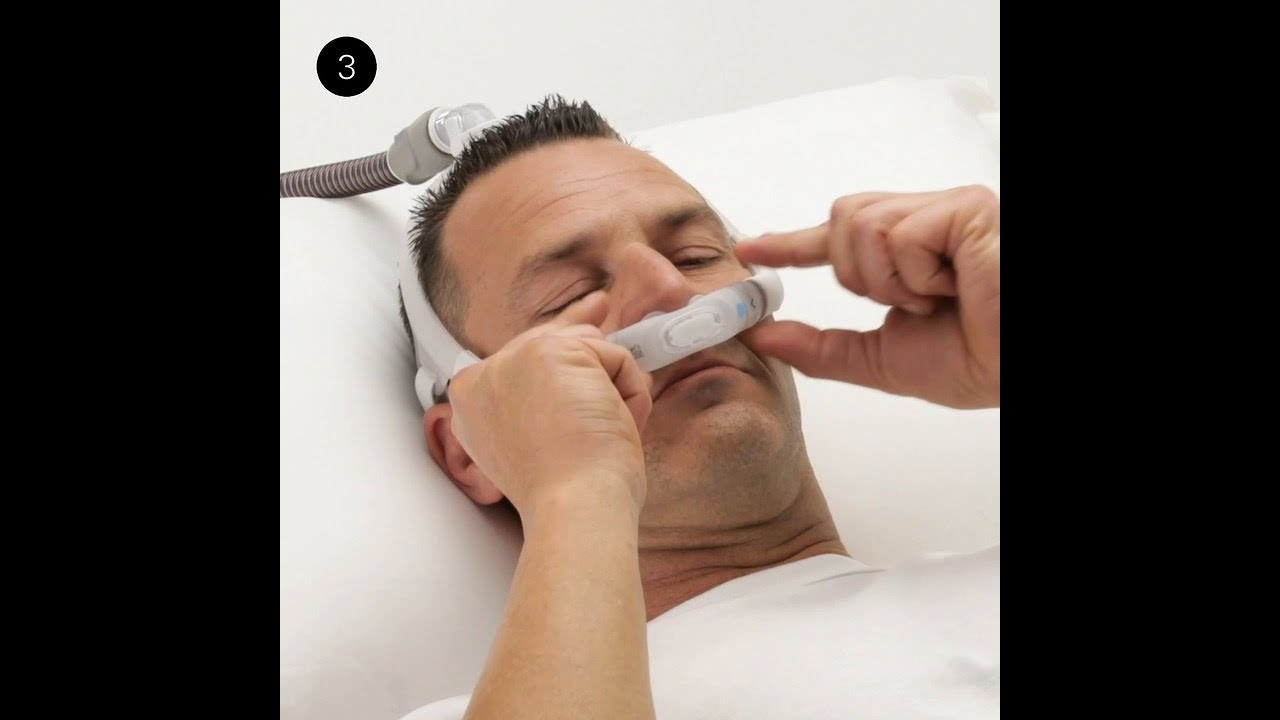 ResMed AirFit™ P30i | Tube-up Nasal Pillows CPAP mask ...