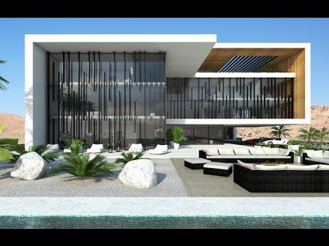Luxury modern villa in Saudi Arabia by NG architects