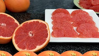 The Right Way to Eat and Enjoy Grapefruit | Health Benefits of Grapefruits
