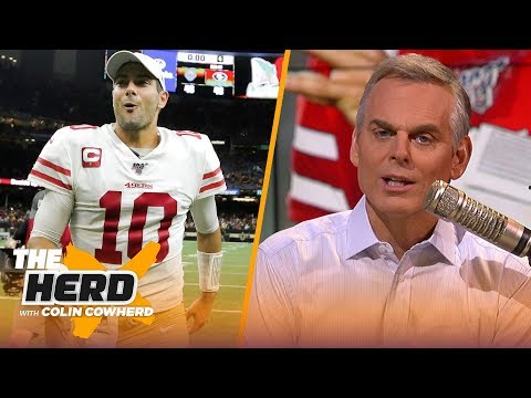 Garoppolo is worth every penny for 49ers, Brady may be at fault for Pats' WR woes | NFL | THE HERD