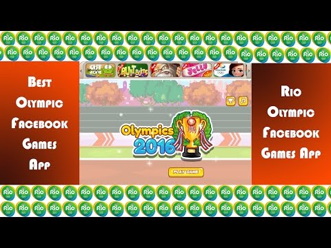 Rio 2016 Olympic Games - Best Facebook Games App Overview