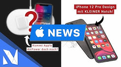 iPhone 12 Pro - kleinere Notch, eckiges Design & LiDAR Sensor - Apple News! | Nils-Hendrik Welk