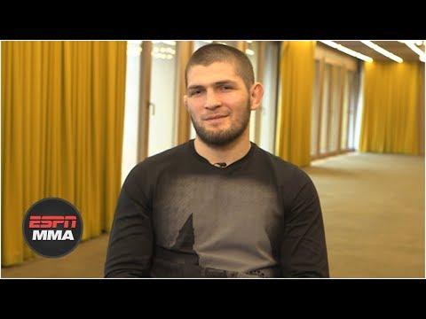 Khabib: Dustin Poirier is 'not a big fight' like UFC 229 vs. Conor McGregor   UFC 242   ESPN MMA