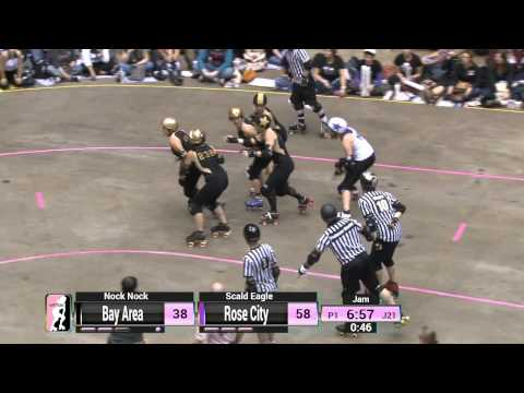 WFTDA Roller Derby: 2014 Championships - Rose City Rollers vs. Bay Area Derby Girls