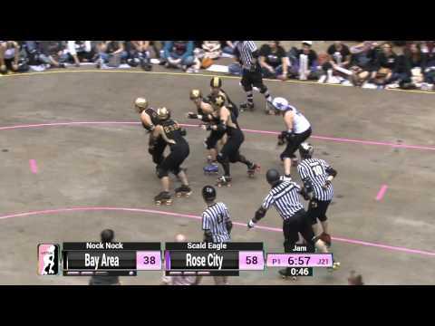 WFTDA Roller Derby: 2014 Championships  Rose City Rollers vs. Bay Area Derby Girls
