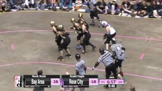 WFTDA Roller Derby: 2014 Championships - Rose City Rollers vs. Bay Area Derby Girls
