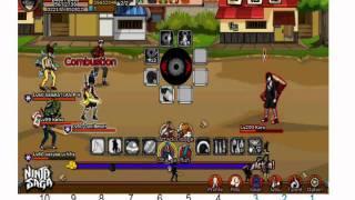 Ninja saga Boos gaara lvl 200