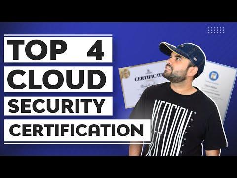 Top 4 Cloud Security Certifications