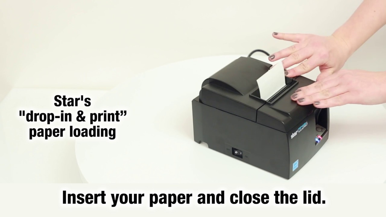 Star Micronics: How to set-up TSP100III WLAN printer