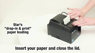 Setting up the tsp100iii is easy. this video shows you how. learn more about tsp100iii: http://www.starmicronics.com/printer/thermal_printers/tsp100iii v...