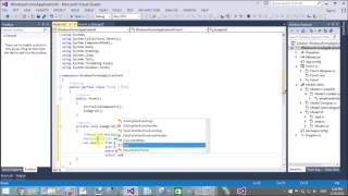 In this windows form tutorial, we will get the data from foreign ke...
