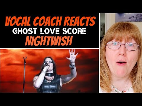 Vocal Coach Reacts to NIGHTWISH 'Ghost Love Score' (Official LIVE)