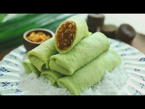 Kueh Dadar - 香兰椰丝卷