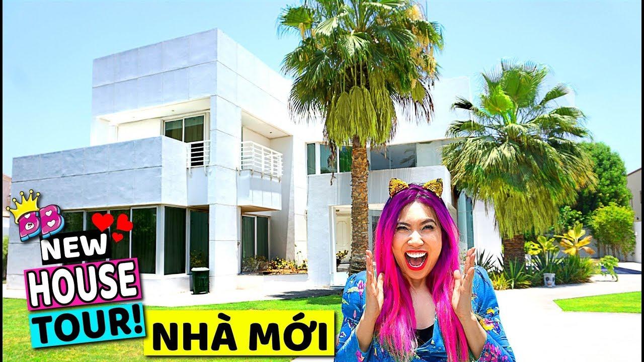 NHÀ MỚI!! HOUSE TOUR!  BÁNH BAO LEO VÀ NGƯỜI BÍ ẨN!!