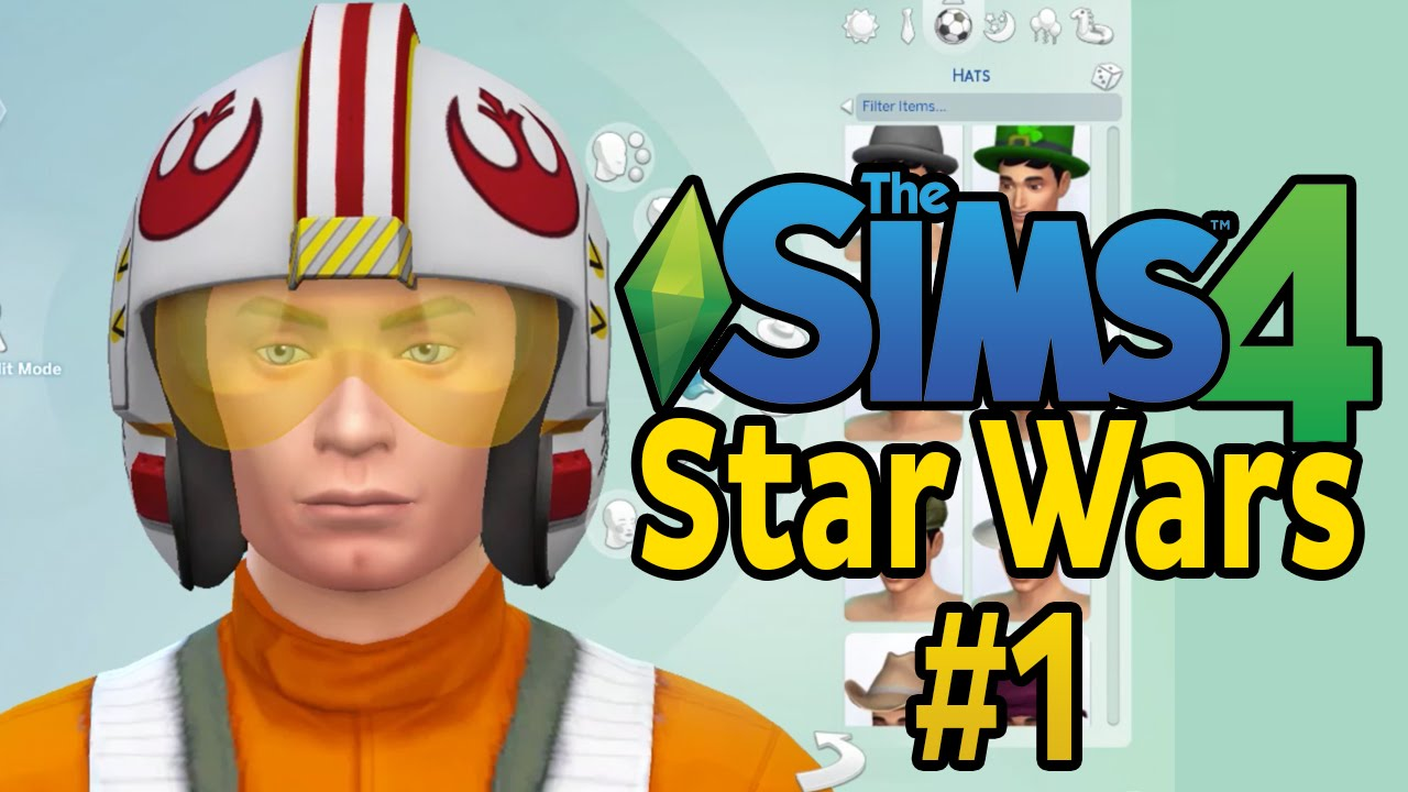 Star Wars House Items Let S Play The Sims 4 Star Wars Part 1 Full House