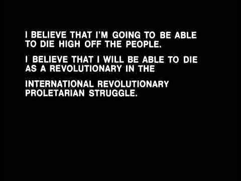 Fred Hampton Speech   Why don't you die for the people