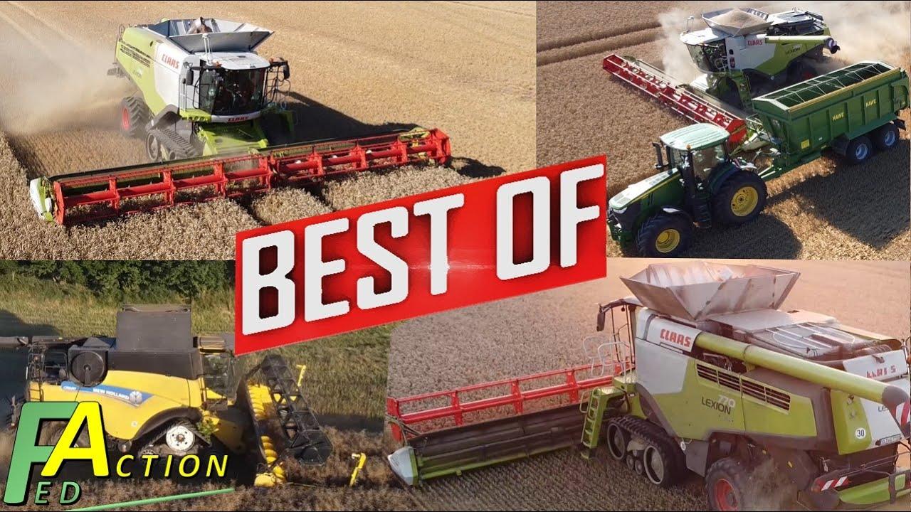 ? Landwirtschaft XXL Best of Drescher Drohnen Videos 2020 Top Combine Harvesters in Germany DJI Mini