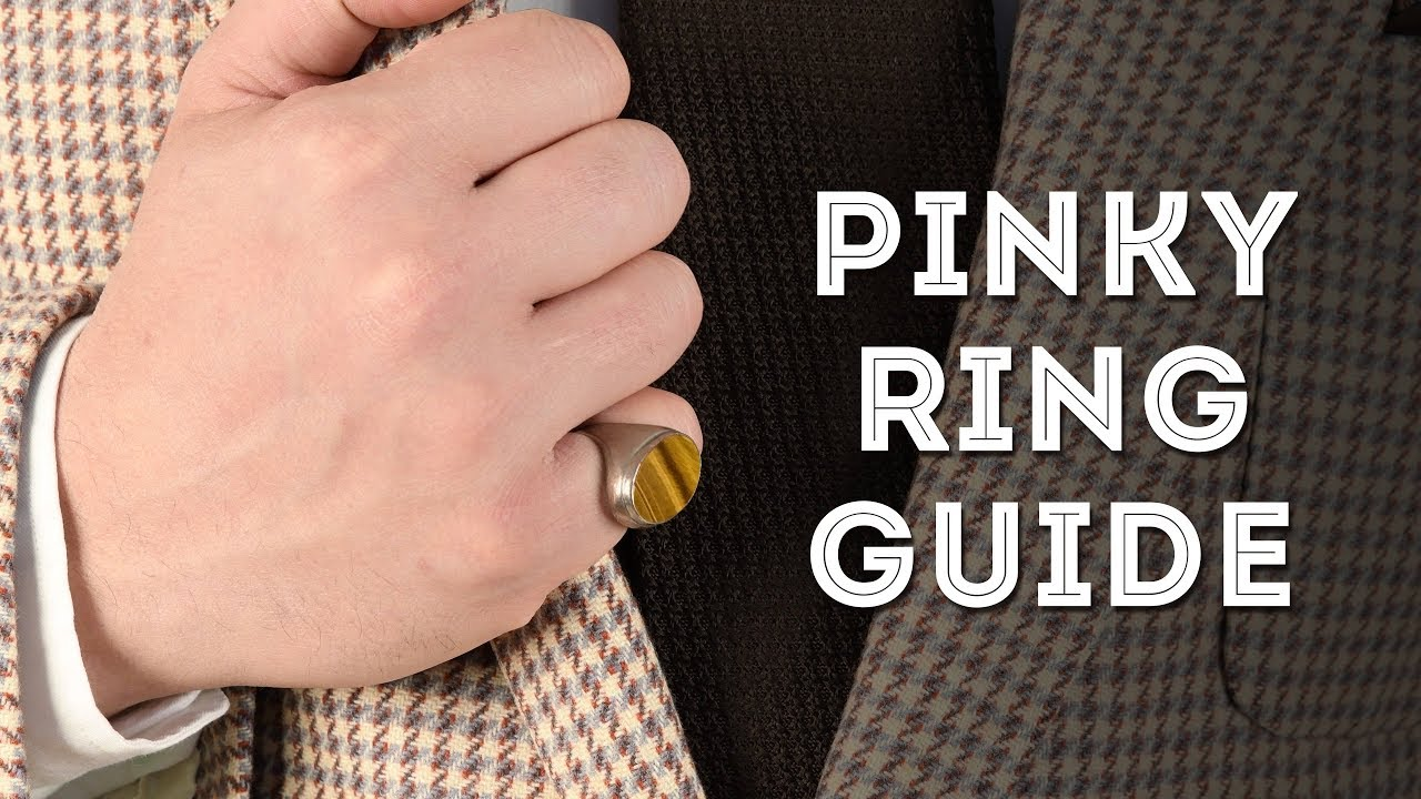 Why do mobsters wear pinky rings